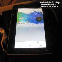 tablette toshiba folio 100