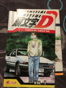 Collection Manga INITIAL-D les 20 premiers Volumes