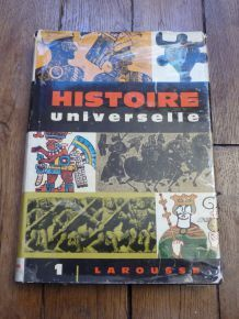 Histoire Universelle - Tome 1 - Larousse- De Marcel Dunan- 1960
