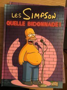"""Lot de 5 BD """"Les Simpsons"""" (1,2,3,4,5)"""