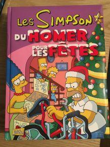 Lot de 4 BD simpson hors série spécial Noël