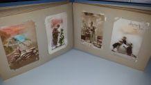 Ancien album carte postale ancienne