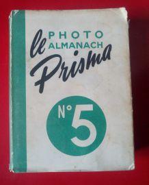 Photo Almanach Prisma n•5 - 1952