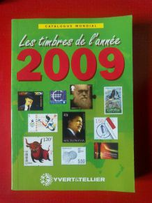 Les timbres de l'année 2009 - catalogue mondial