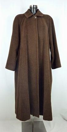 Manteau Sonia Rykiel en laine marron Taille 40