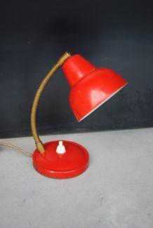 Petite lampe bureau métal année 70