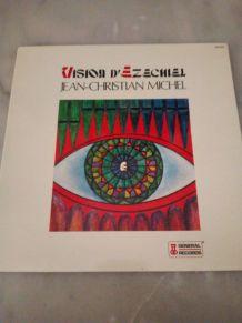 """VINYLE 33 TOURS JEAN CHRISTIAN MICHEL """"VISION D'EZECHIEL"""""""