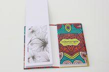 Carnet coloriage anti stress mandala