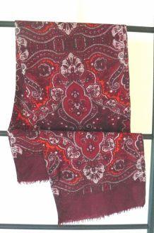 écharpe en laine fine