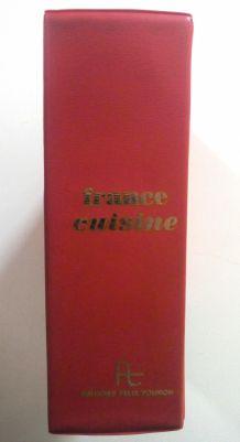 Classeur France Cuisine - Éditions Félix Touron - vintage 70