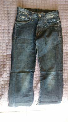Jeans GSTAR Raw G-Star homme T28 taille 28 pour homme mince ou ado garçon.