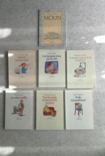 Lot de livre l'Ecole des Loisirs