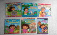 Lot de livres Dora l'exploratrice