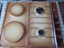 Table de cuisson mixte gaz/électrique