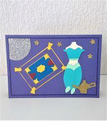 Carte princesse Jasmine