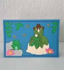 Carte princesse Tiana