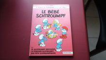 Livre bd schtroumpfs le bébé 1984 ancienne