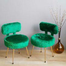Paire de fauteuils Pelfran années 60/70