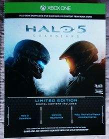 Halo 5 Guardians Collector Limited Edition NEUF Version FR