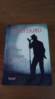MONTAND Le livre du souvenir