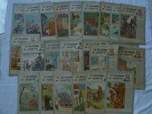 La  semaine de  Suzette 1946_1948 ( lot  de 23 numeros)