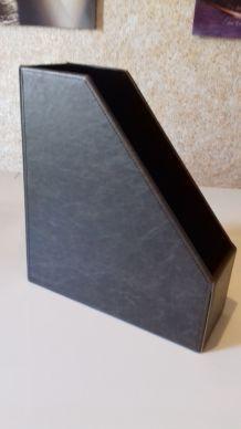 Porte-documents Imitation cuir marron