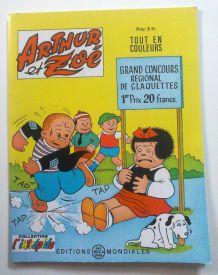 Arthur et Zoé - numéro 43 - 1970