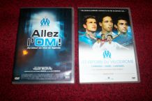 LOT 2 DVD OLYMPIQUE DE MARSEILLE