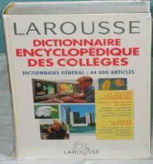 Dictionnaire Encyclopedique Des Colleges