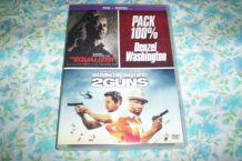 DVD EQUALIZER + 2 GUNS 2 films avec denzel washington
