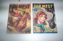 lot 2 petites revues far-west des années 1950/60