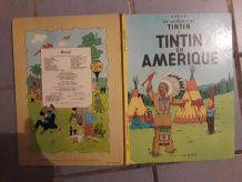 BD Tintin en Amérique - Hergé