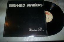 disque 33 tours 10 titres bernard lavilliers PREMIERS PAS