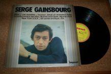 disque 33 tours serge gainsbourg 12 titres