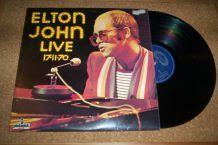 33 TOURS 6 TITRES ELTON JOHN LIVE CONCERT 17 NOV. 1970