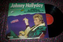 disque 33 tours 12 titres programme plus de johnny HALLYDAY