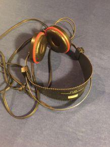 Vintage Sansui Dynamic Stereo Headphones Ss-l3 RARE