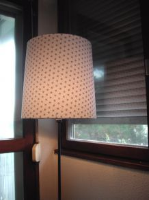 Abat-jour style vintage géometrique Origami gris