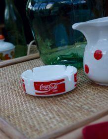 Cendrier bistro vintage Coca Cola