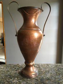 Grand vase cuivre