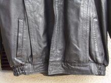 Blouson HOMME en cuir vintage - Taille 56 - C0002