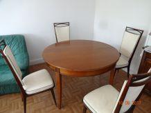 Table Roche Bobois + table basse marbré