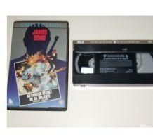 CASSETTE VHS JAMES BOND au service secret de sa majesté
