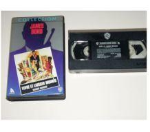 CASSETTE VHS JAMES BOND vivre et laisser mourir