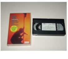 "CASSETTE VHS U2 concert filmé "" under a blood red sky """