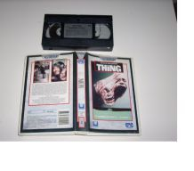 CASSETTE VHS THE THING