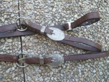 collier de chasse, type western  pour  cheval