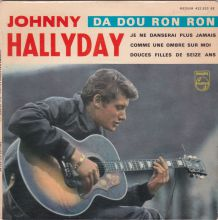 JOHNNY HALLYDAY - Da Dou Ron Ron - 45 t