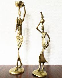 Statuettes femmes en bronze