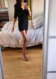 Robe Bérénice noire